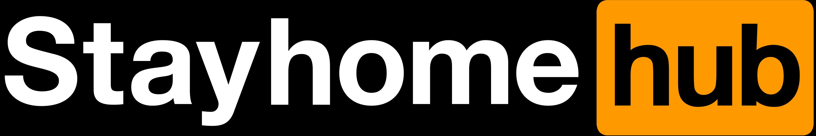 Pornhub Stayhomehub logo